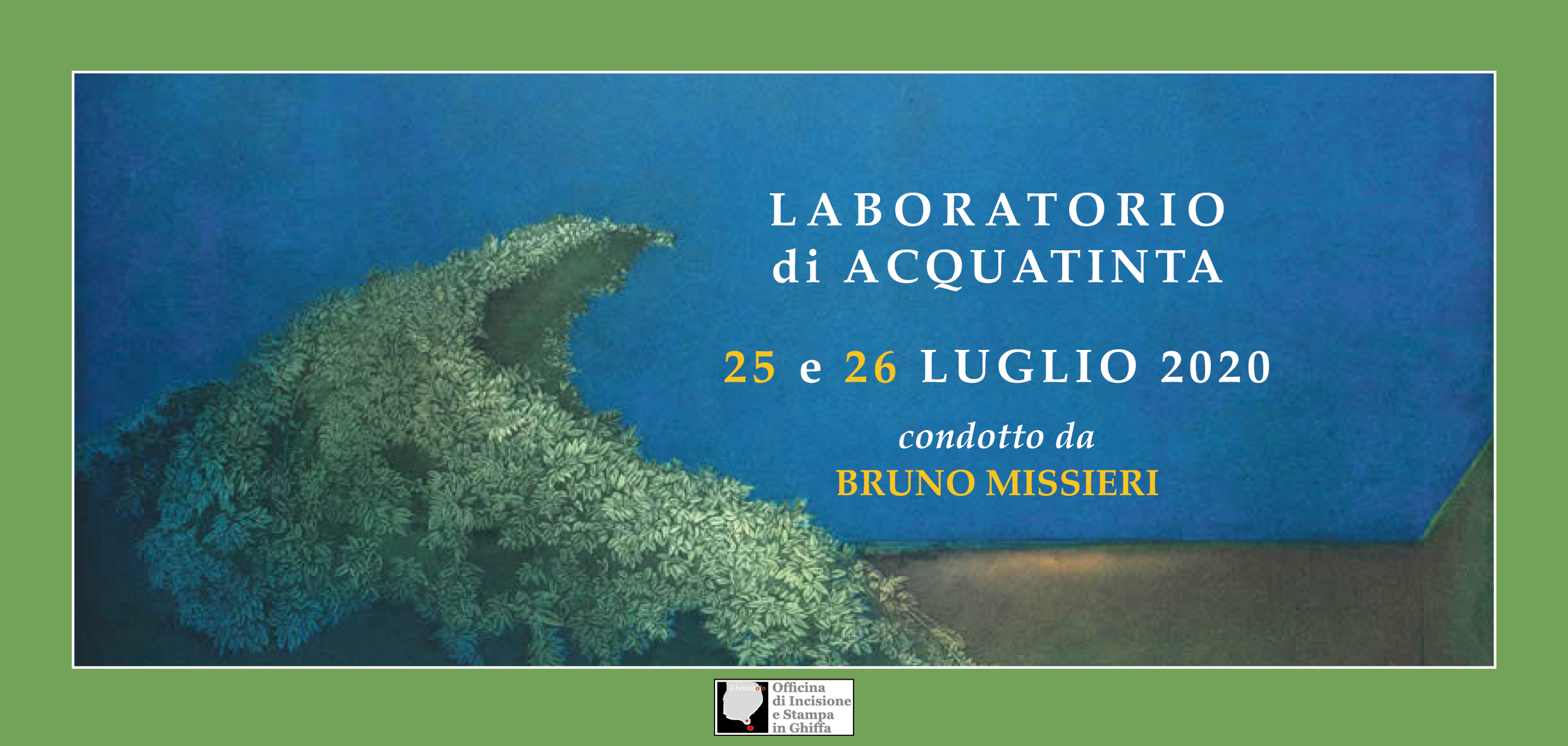 Laboratorio di Acquatinta condotto da Bruno Missieri